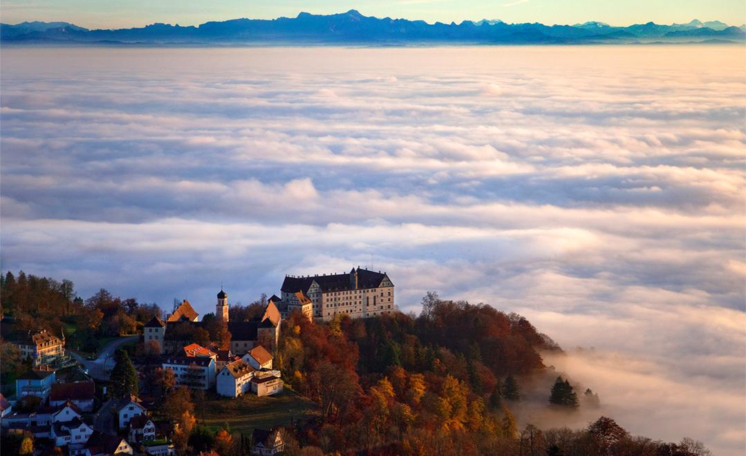 Schloss Heiligenberg Foto & Bild | Motive, Schlösser & Burgen ...